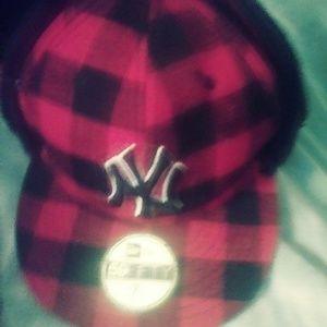 Yankees lumberjack fitted hat 7 1/2
